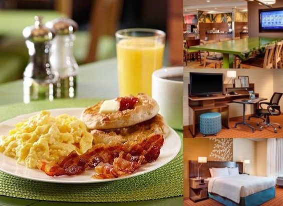 fairfield inn breakfast hours