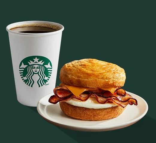 starbucks breakfast hours